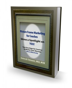 Get the Book! Picture Frame Marketing for Coaches